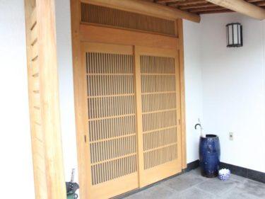外壁塗装 玄関