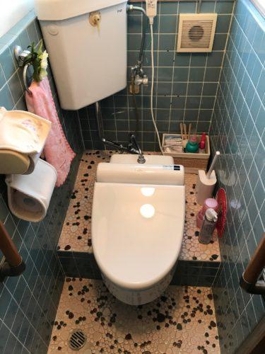 広島市西区 トイレ・玄関リフォーム工事 3